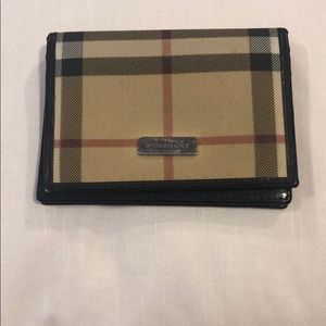100% Authentic Burberry Small Wallet